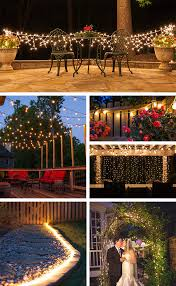 Outdoor Patio Lights Ideas Patio Lights Yard Envy