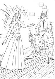 Coloriages de la belle au bois dormant de walt Disney  Princesse
