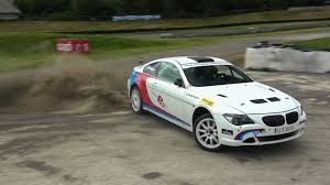 bmw rally car video watch a bmw 650i rally car get muddy