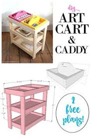 ana white build a kids art center free and easy diy project