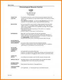 Forklift Experience On Resume 9 Resume Outline Template Forklift Resume