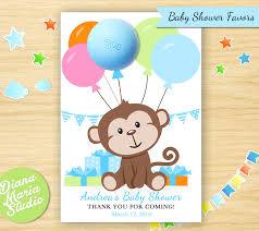 monkey boy baby shower monkey favors eos lip balm monkey boy baby shower theme