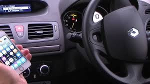 renault safrane 2016 interior pairing an iphone to the bluetooth sysyem in an renault megane i