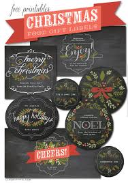 printable labels for your edible christmas gifts