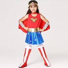 Wonder Woman Costume Wonder Woman Costumes For Girls Ebay