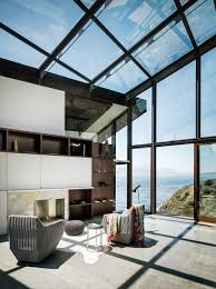 3 level house on desolate bluff overlooking ocean