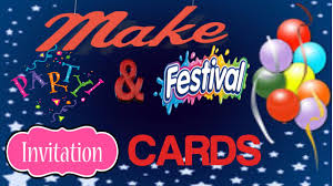 Event Invitation Card Make Birthday Function Event Party Invitation Cards In 2