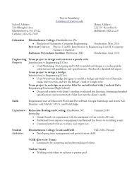 resume interest resume objective statement for resume
