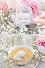 heart shaped tea bags wedding favors praise wedding