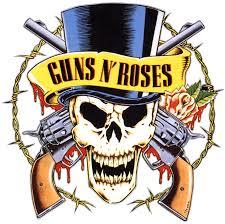 Guns And Roses - guns n roses logo transparent png stickpng