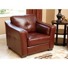 Top Grain Leather Sofa Recliner Abbyson Torrance Burgundy Top Grain Leather Sofa And Loveseat Set