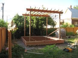 simple arbor plans tags wonderful build pergola plans fabulous