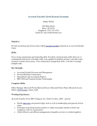 Accounts Payable Manager Resume Sample by Inventory Clerk Resume Free Resume Example And Writing Download