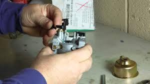 fixing the honda snowblower carburetor youtube