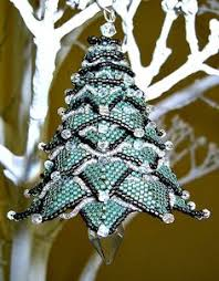 beaded christmas ornaments free patterns beaded ornament
