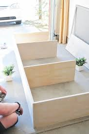 Daybed With Storage Make It Diy Minimalist Daybed With Storage