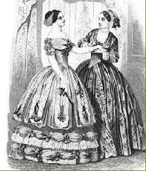 victorian era fashion pre hoop 1840 1855 u2013 dark thorn clothing