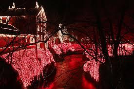 clifton ohio christmas lights flickriver photoset clifton mill christmas lights by natural born