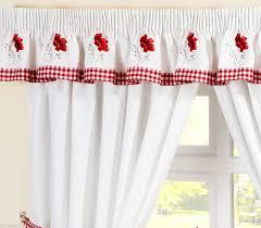 Gingham Kitchen by Red Gingham Kitchen Curtains Photo U2013 6 U2013 Kitchen Ideas