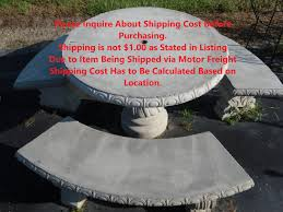 Round Stone Patio Table by Luxury Concrete Patio Table Set Ksrib Formabuona Com