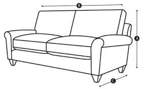 sofa seat depth measurement measuring guide