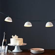 pleated string lights on food52