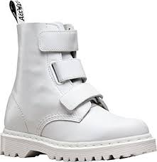 s boots amazon uk dr martens womens coralia velcro boot uk 9 uk white