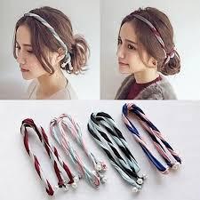 hair accessories malaysia new korean fashion layer pearl headband 11street malaysia