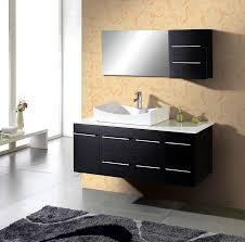 54 bathroom vanity set wall mounted single sink ag x011