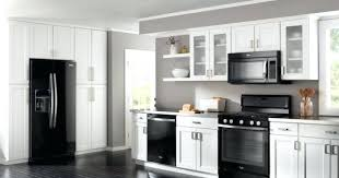 Grey And White Kitchen Curtains by White And Black Kitchens U2013 Fitbooster Me