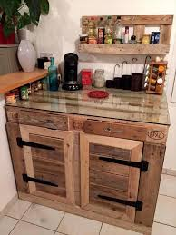 Pallet Kitchen Furniture Diy Recycled Pallet Kitchen Furniture Ideas Ideas With Pallets