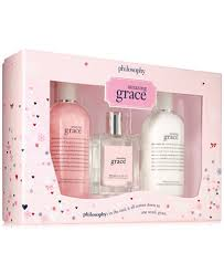 philosophy 3 pc amazing grace gift set gifts value sets