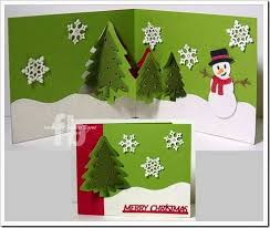 Xmas Designs For Cards 126 Best Cards Christmas Pop Up Images On Pinterest Christmas