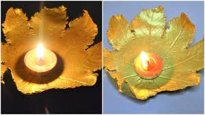 how to make decoration at home how to make diya holder diya decoration at home for diwali