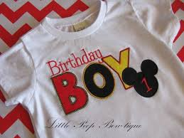 mickey mouse 1st birthday boy mickey mouse birthday shirt boys birthday t shirt 12 18 24