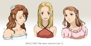 baccano baccano characters baccano characters part 2 by nicolecover on