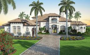 Luxury Mediterranean House Plans Mediterranean Dream Home Plan With 2 Master Suites 86021bw