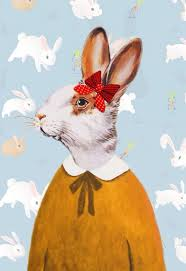vintage rabbit vintage rabbit discovered by 魚 彡 on we heart it