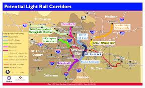 Metro Link Map by A Year To Remember St Louis Transit In 2010 Metro Transit U2013 St