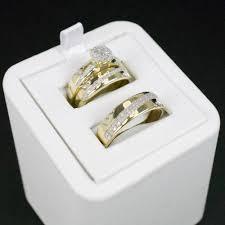 wedding set gold diamond trio wedding set 31 cadillac jewelry