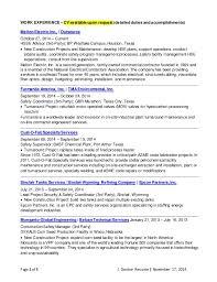 Resume Companies J Denton Resume 11 17 14