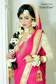 bengali in a pink silk bridal saree butterflies of india