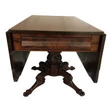 Drop Leaf Breakfast Table 1820 S American Federal Drop Leaf Breakfast Table Chairish