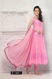 light pink color designer partywear long anarkali suit anarkali