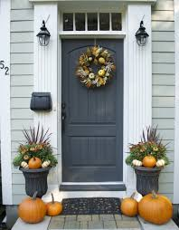 front door ideas 67 cute and inviting fall front door décor ideas digsdigs