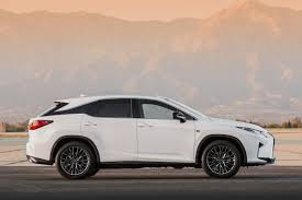 lexus hybrid sport 2016 lexus rx 350 f sport and rx 450h show up in nyc autoevolution