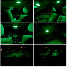 white nissan maxima interior for nissan maxima 2009 2014 green led interior kit white license