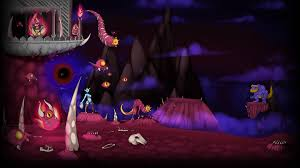 steam halloween background image wings of vi background the path of decay jpg steam