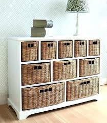 Bathroom Baskets For Storage Bathroom Storage Wicker Baskets Vintage Grey Range Two Drawer And