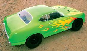 try this muscle car paint scheme for your rc truck rc driver